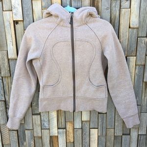 Woman's lululemon zip up hoodie size 4 top shirt